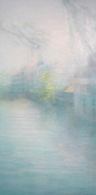 """Grain isolation""<br>oil, canvas100x50cm"