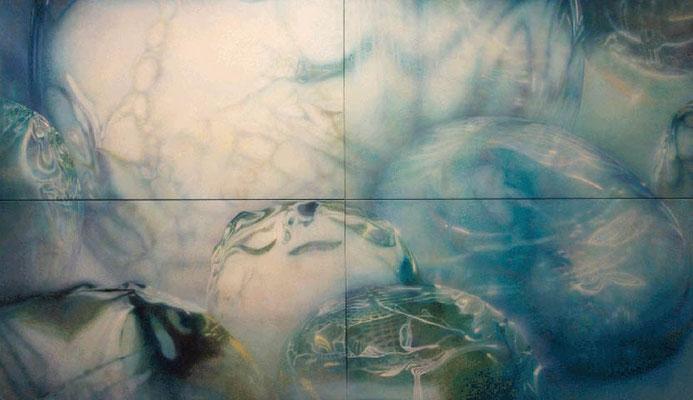 """""""Veränderung der Erinnerungen""""<br>oil, canvas&nbsp220x380cm"""