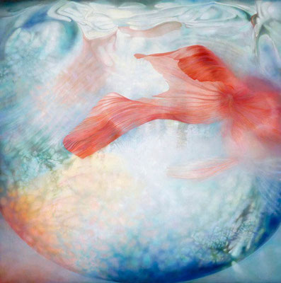 """Mirror of nostalgic wind""<br>『風懐鏡』<br>oil, canvas162x162cm<br>collection: Sato Museum"