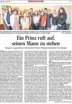 Torgauer Zeitung vom 09.06.2017