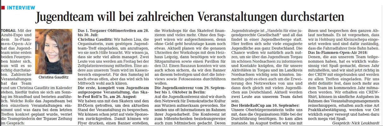 Torgauer Zeitung vom 26.07.2017