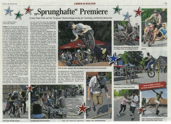 Torgauer Zeitung vom 28.08.2017