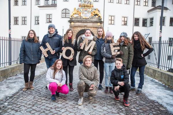 Am Schloss Hartenfels - 12.02.22017