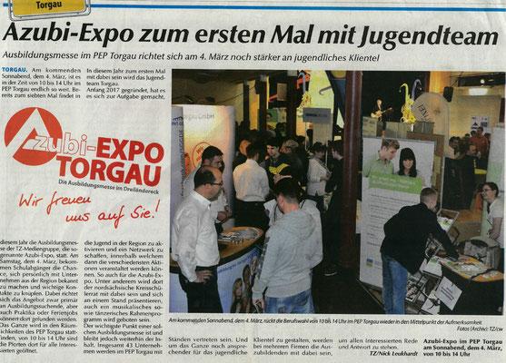 SonntagsWochenblatt der TZ vom Februar 2017