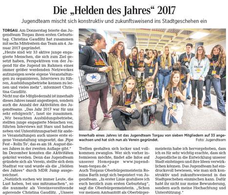 Torgauer Stadtzeitung vom 06.01.2018