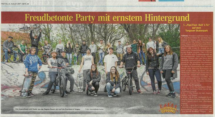 Torgauer Zeitung vom 25.08.2017