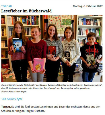 Torgauer Zeitung vom 06.02.2017