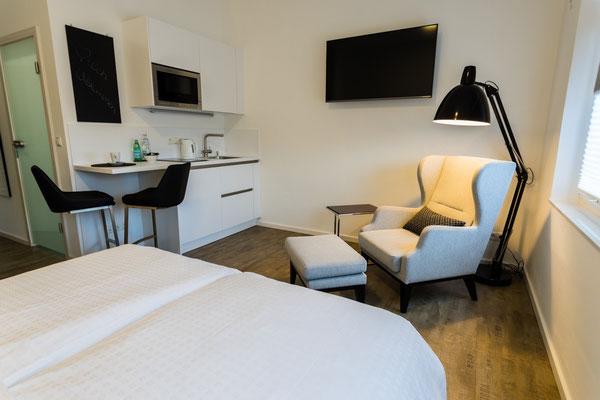 Hotelzimmer, Bayreuth, Übernachtung, Apartment, Serviced Apartment