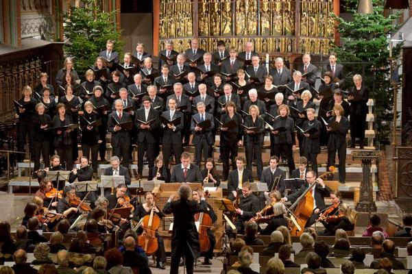 St. Johanniskantorei und Concerto Brandenburg <small><i>(Foto und Lizenz: Jürgen Wege)