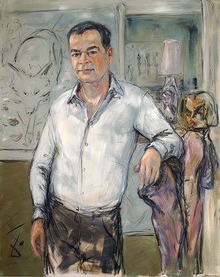 Dr. Stefan Schreyger • 150 x 120 cm • oil on canvas