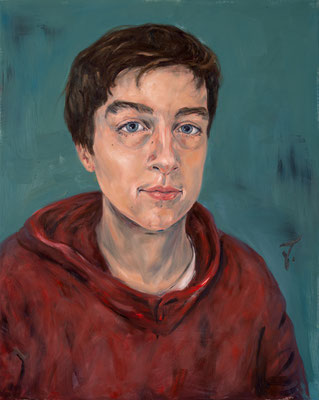 Jacob • 100 x 80 cm • Oil on Canvas