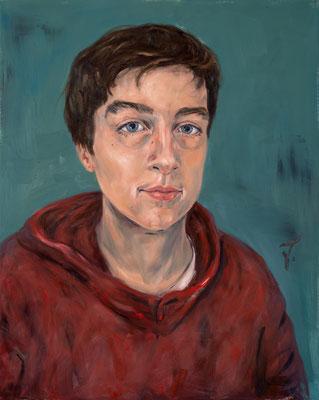 Jacob • 100 x 80 cm • Oil on Canvas