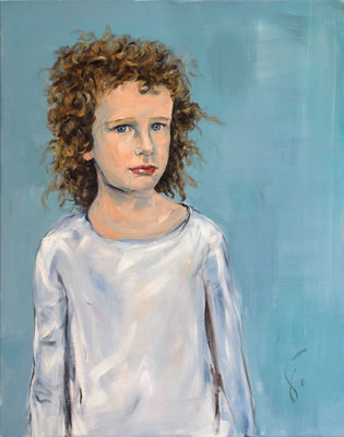 Marthe . 100 x 80 cm . Oil on Canvas