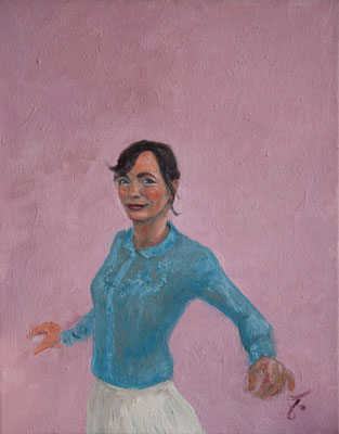 Antje Berghäuser . 50 x 40 cm . Oil On Canvas