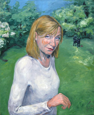 Ulrike Posche . 100 x 80 cm . Oil On Canvas