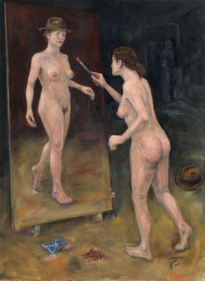 Selfy • 230 x 170 cm • oil on canvas