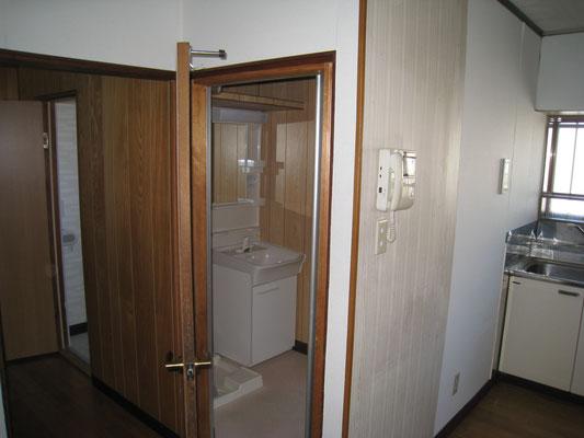 リフォーム前 洗面室
