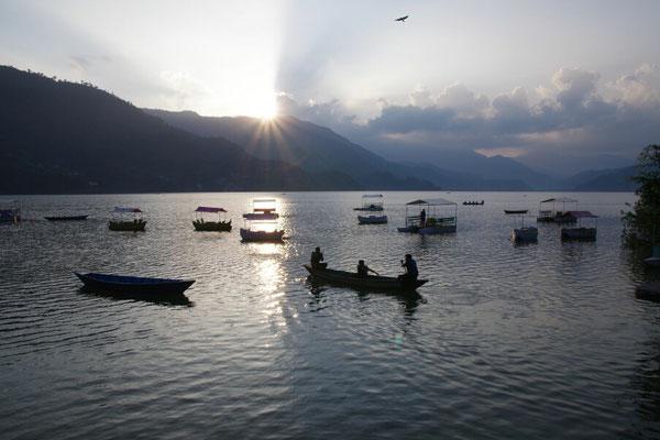 Abendstimmung am Fewa Lake
