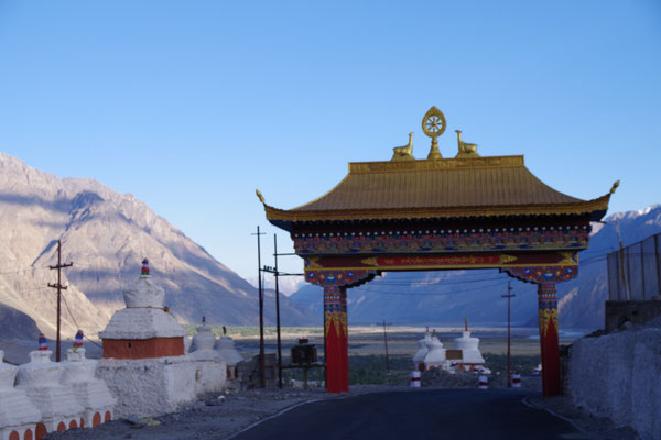 Das Welcomegate des Klosters