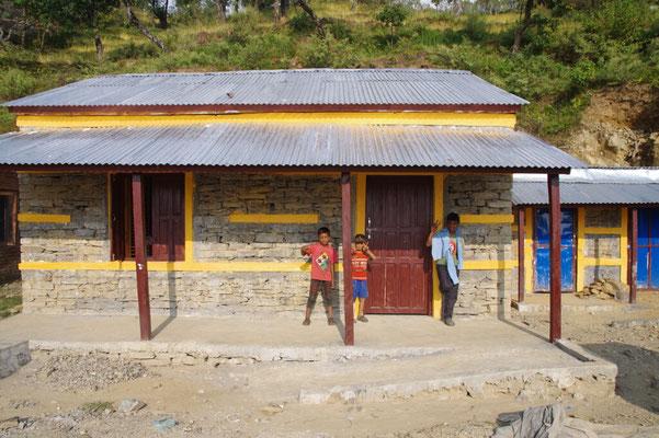 Ein erdbebensicheres Musterhaus