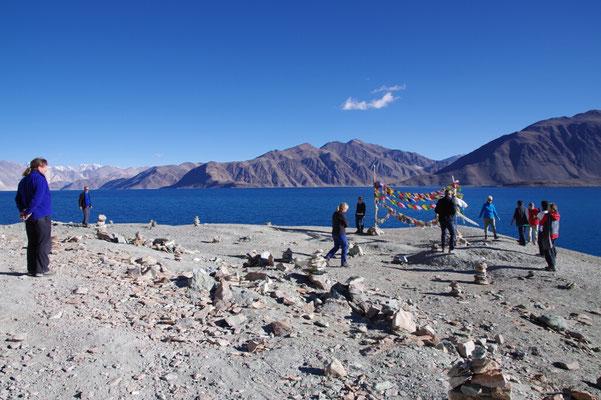 Ein letzter Blick auf den wunderbaren See vor der langen Heimfahrt