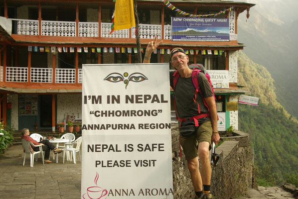 Es gibt keinen Grund mehr nicht nach Nepal zu Reisen.