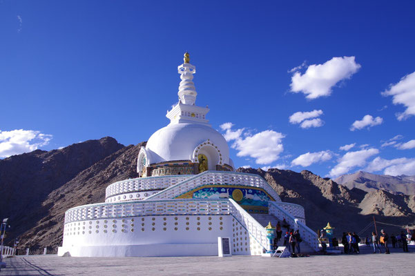 Shanti Stupa bei Leh