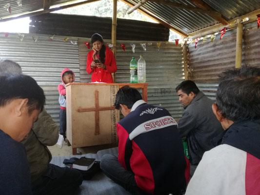 Im Dorf weiter unten gibt es eine kleine katholische Gemeinde