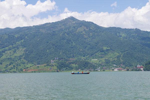 Sarangkot, Aussichtsberg und Startplatz der Gleitschirmflieger