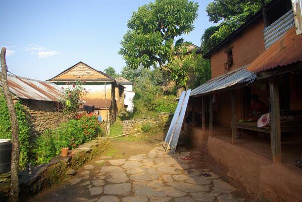Der Hof von Dhai vor einem Jahr