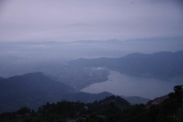 Blick auf den Fewa Lake