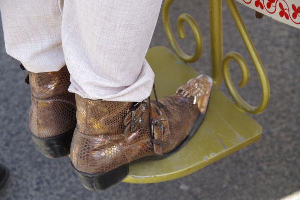 Besondere Schuhe fuer den besonderen Anlass
