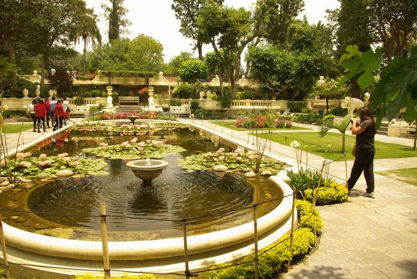 Garden of Dreams, eine ruhige Oase in Kathmandu