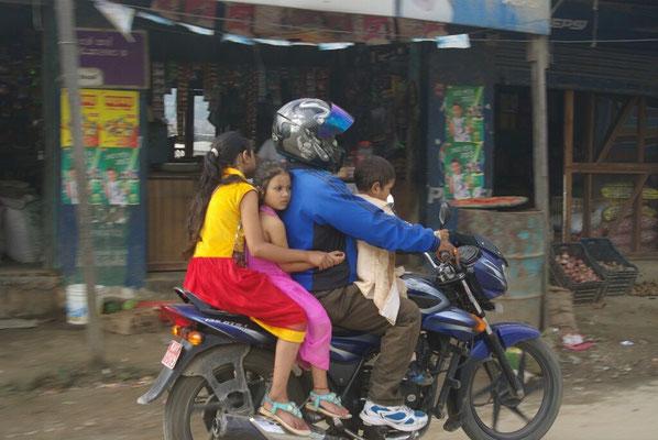 Maximale Nutzung eines Motorrads