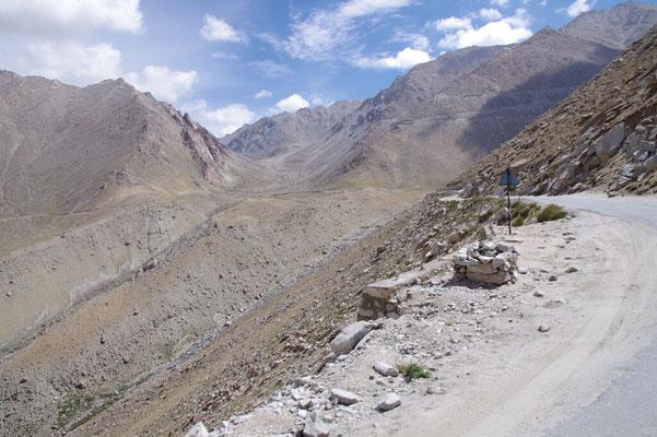 Auf dem Weg zum Changla , (5300m)