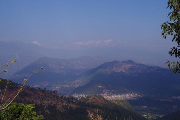 Blick Richtung Langtang