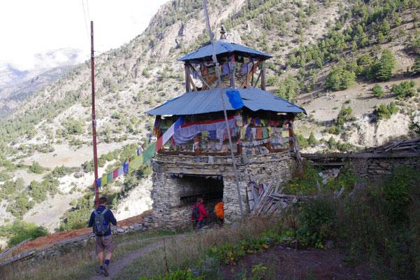 Tibetisch-buddhistisch gepraegte Orte