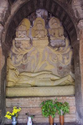 Darstellung Shivas im einzigen hinduistischen Tempel