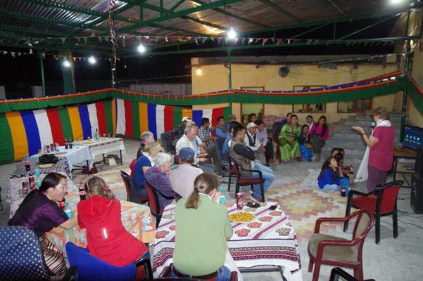Gisa berichtet von ihrer kuerzlichen Reise nach Tibet