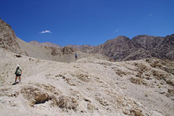 Wanderung von Sabu nach Leh