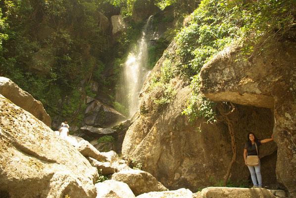 Sundarijal, kleiner Wasserfall