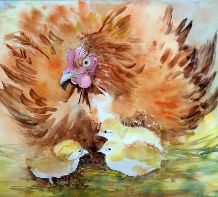 Mère poule  Mother Hen
