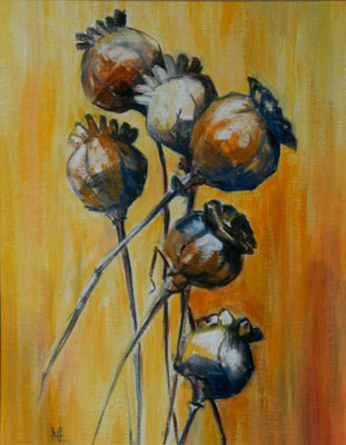 Coquelicots / Poppies huile, oil