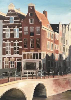 Amsterdam - Hoek Keizers- en leidsegracht