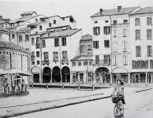 Piazza del erbe - Mantova