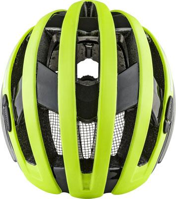 E-Bike und Velohelm Alpina Campiglio mit Rücklicht