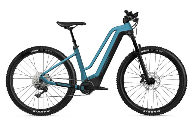 E-Mountainbike FLYER Uproc2 Comfort coast blue