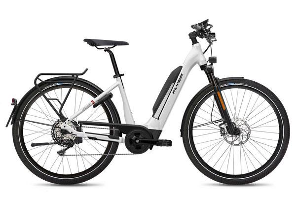 E-Bike FLYER Upstreet5 Comfort weiss