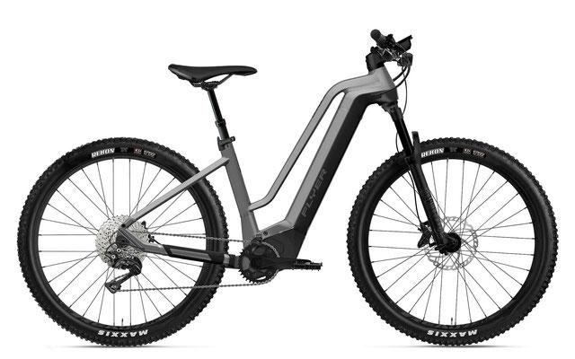 E-Mountainbike FLYER Uproc2 Comfort silber