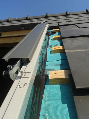 External airtight sealing for roof windows